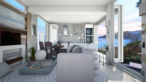 Malibu - Living room - by steph01mami