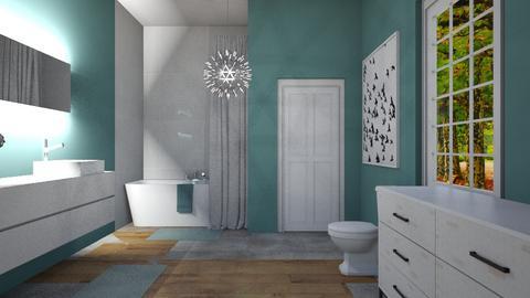 Bathroom_House - Bathroom - by RaeCam