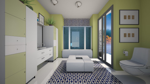 Family Oasis - Modern - Bathroom - by channing4