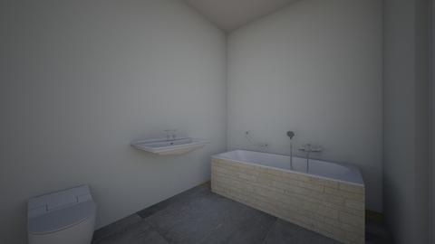 My bathroom - Classic - Bathroom - by bluered2403