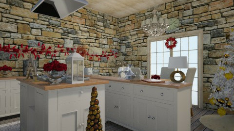 HERE COMES CHRITSMAS - Rustic - Kitchen - by nico3