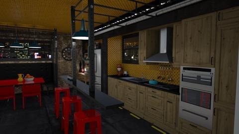 IP Artisan Oak - Kitchen - by mmehling
