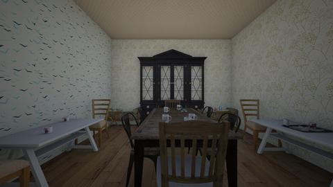 Resturant - Vintage - Dining room - by KinderKid