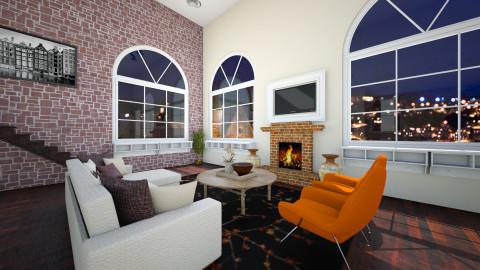 Studio  - Living room - by honeylynAmbos