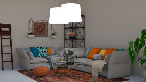 bohemian - Living room - by lmm90