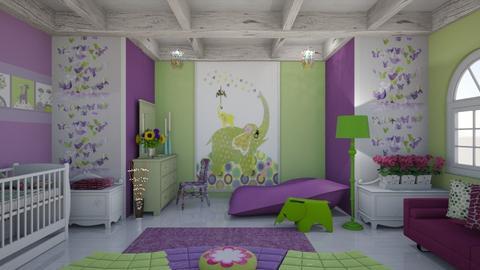 nursery - Eclectic - Kids room - by mari mar