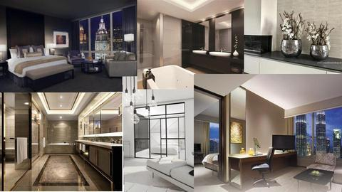 moodboard hotel room - by gila