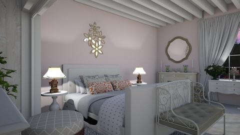 late spring 2019 - Bedroom - by Missykittens