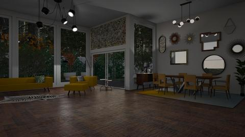 Mid Century Modern - Retro - Dining room - by tax benefits