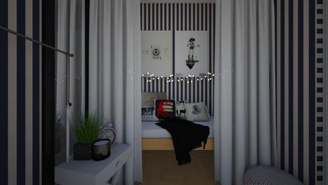 my room - Bedroom - by Weronika Gunther