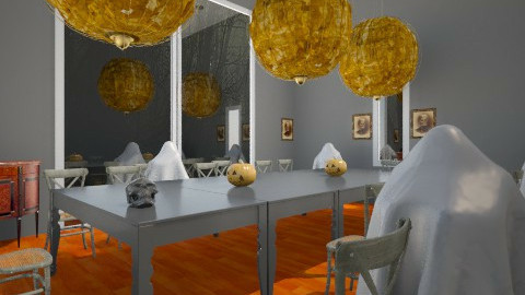 halloween party - Dining room - by Amateur architect
