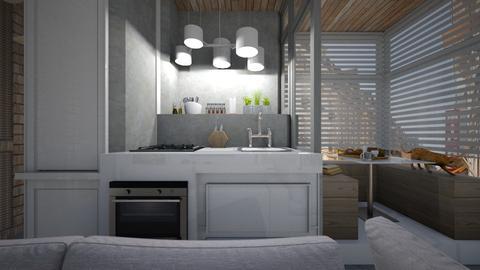 Casa209KitchenandDining - Eclectic - Kitchen - by nickynunes