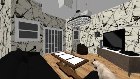 1B Joshua Crossley - Living room - by shayden