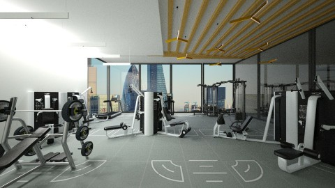 Gym - by DMLights-user-1320140