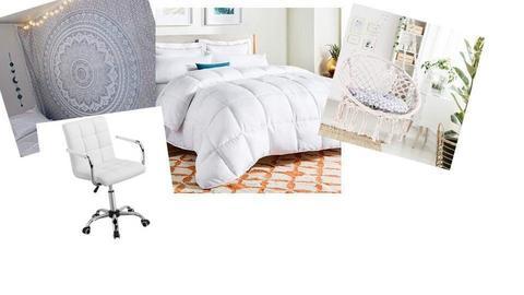 Cute Bedroom Moodboard - by starkey77