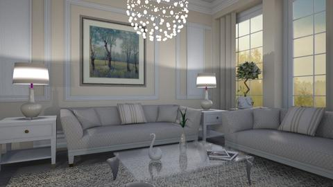 M_Morning misty - Classic - Living room - by milyca8