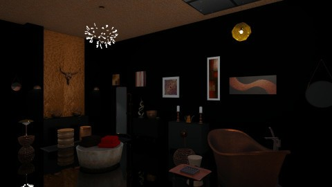 Black Copper - Bathroom - by Jade Autumn