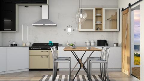 Scandinavia  - Modern - Kitchen - by Gurns