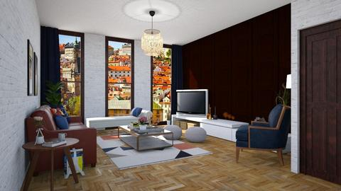 Template room - Modern - Living room - by martinabb