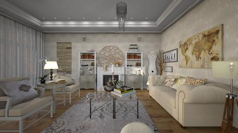 Shabby  - Living room - by zarky