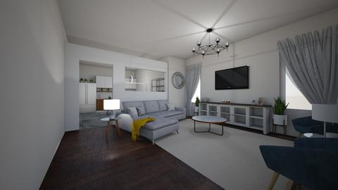 main level house - Living room - by csf686843