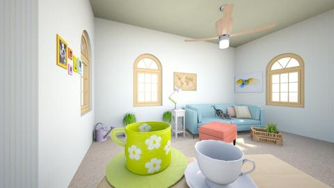 Morning Citrus - Living room - by Birb