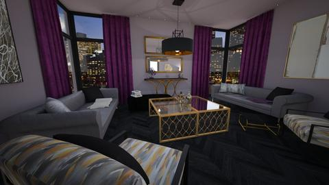 Luxe Living Room - Glamour - Living room - by pfeilswdm