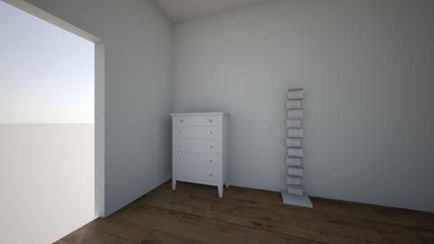 pokoj - Bedroom - by kajatasiemska