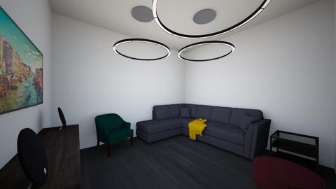 Urban living room - Modern - Living room - by Boba Boba Teaaaaaaa