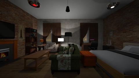 New York Room - Bedroom - by WestVirginiaRebel