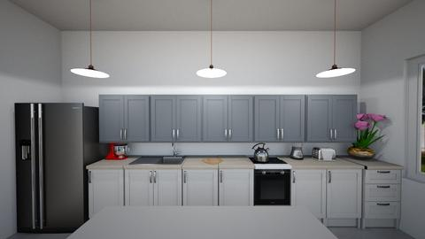 kitchen1 - Modern - Kitchen - by 1g