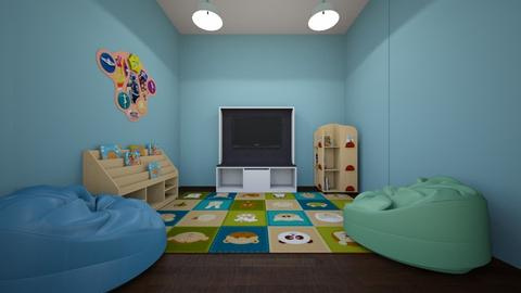 Circle TIme - Kids room - by Lika T