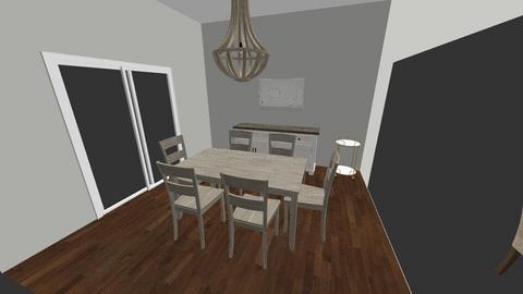 dining room - by kristiderev