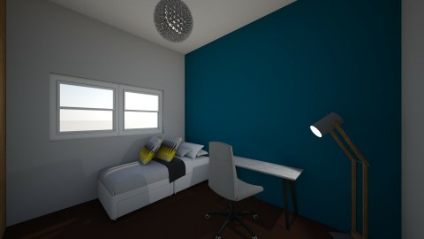 Evies bedroom - by eve 1