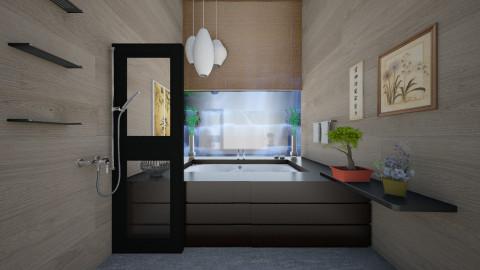 asia bath - Modern - Bathroom - by sometimes i am here