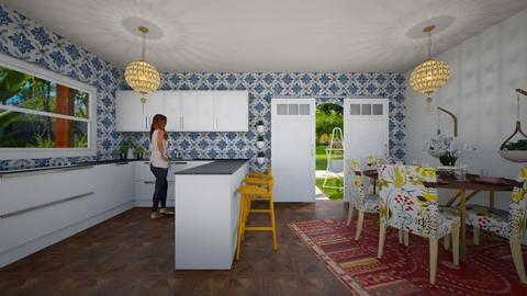Bohemian - Kitchen - by gkathryn