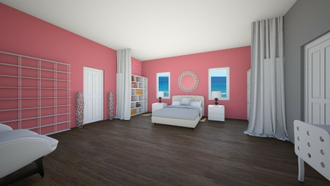 Pink Bedroom Design - Feminine - Bedroom - by ansleymwhitaker