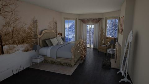 Winter Grey Bedroom - Bedroom - by Tzed Design