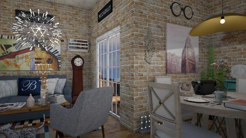 london on my mind - Living room - by anggey