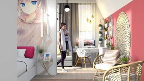 Inspire Teenage Girl - Bedroom - by Vlad Silviu
