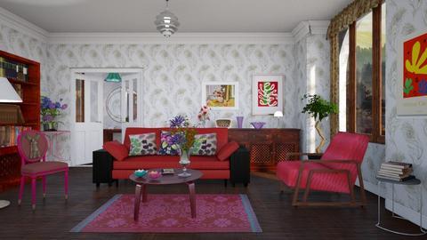 M_ Matisse - Living room - by milyca8