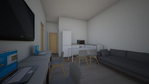 apartament nou 2 - Living room - by casilele25
