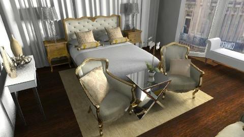 dior bedroom - Bedroom - by rosiedoll