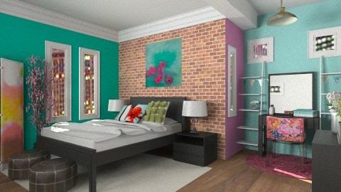 Chicago - Bedroom - by natalie_biggane145