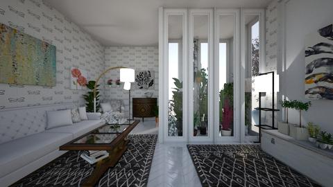 green house room - by kla