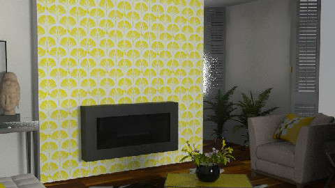 Yellow - Living room - by FranklyDear