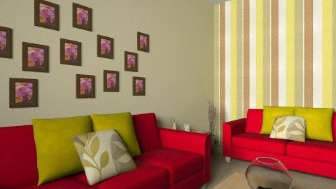 Emilys Living Room - Living room - by amyspringett