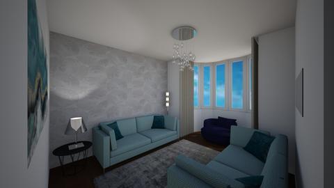 Levett Gardens A3 - Living room - by JLStratford