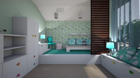 dzieciecy - Kids room - by pasja_