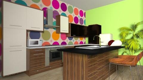 Colour kitchen - Kitchen - by vydrovamisulka1